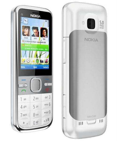 nokia c5 00 5mp mobile phone price in india specifications. Black Bedroom Furniture Sets. Home Design Ideas