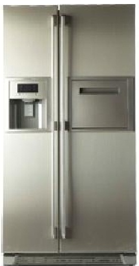 Electrolux EP600DMTS Side by Side Door Direct Cool 585 Litres Refrigerator
