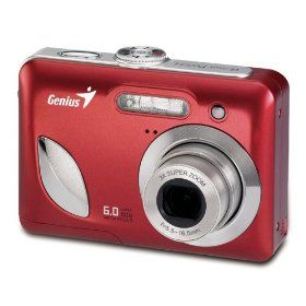 Genius Point and Shoot Camera G Shot P6533