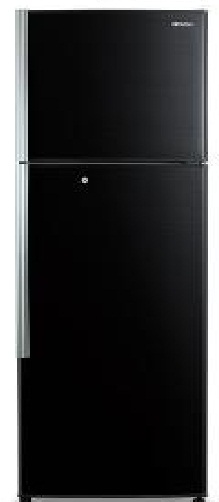Hitachi R T350END1K PBK Double Door 318 Litre Refrigerator