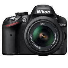 Nikon D3200 with 18-105mm Lens