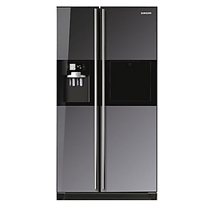 5703f59bf Samsung RS21HZLMR1 XTL 585 Litres Side by Door Refrigerator Price in ...