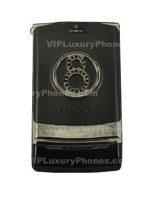 Cartier 8 Eight Black Mobile-Cell Phone