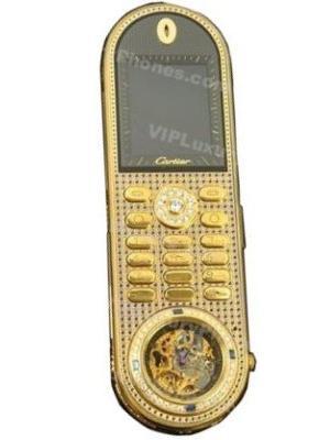 Cartier Luxury Golden Phone