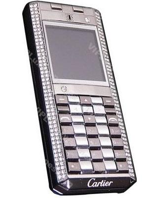 Cartier V90 Slim Steel GSM Cell Phone