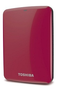 Toshiba Canvio Connect 750GB Portable Hard Drive
