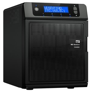 WD 8 TB Network Hard Drive Sentinel Dx 4000 (Black)
