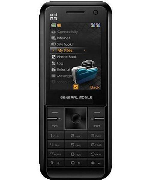 General Mobile DST 3G Black