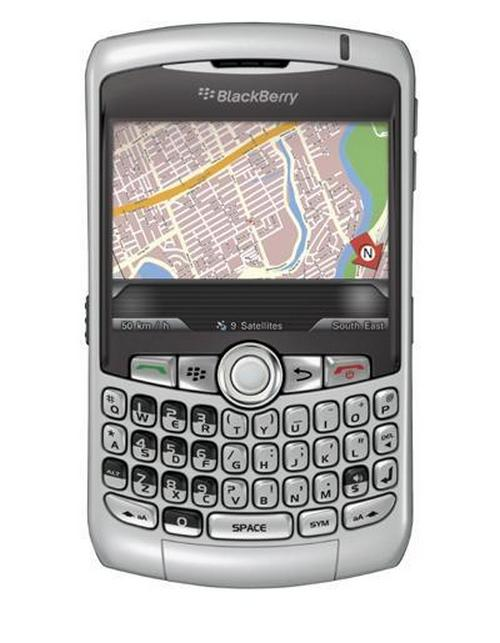 Vodafone BlackBerry Curve 8310 Mobile Phone Price in India