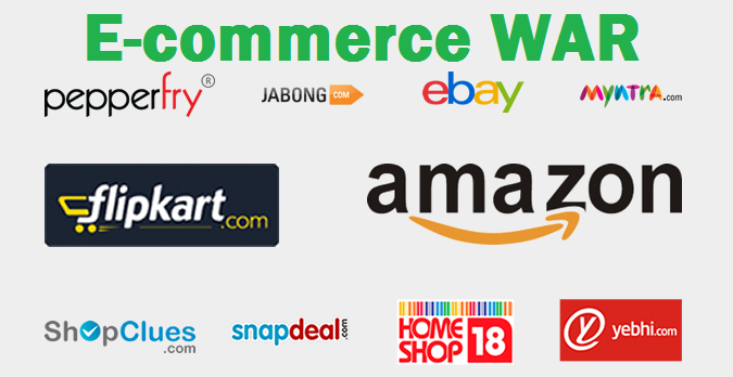 India's E-commerce war: Where to buy?