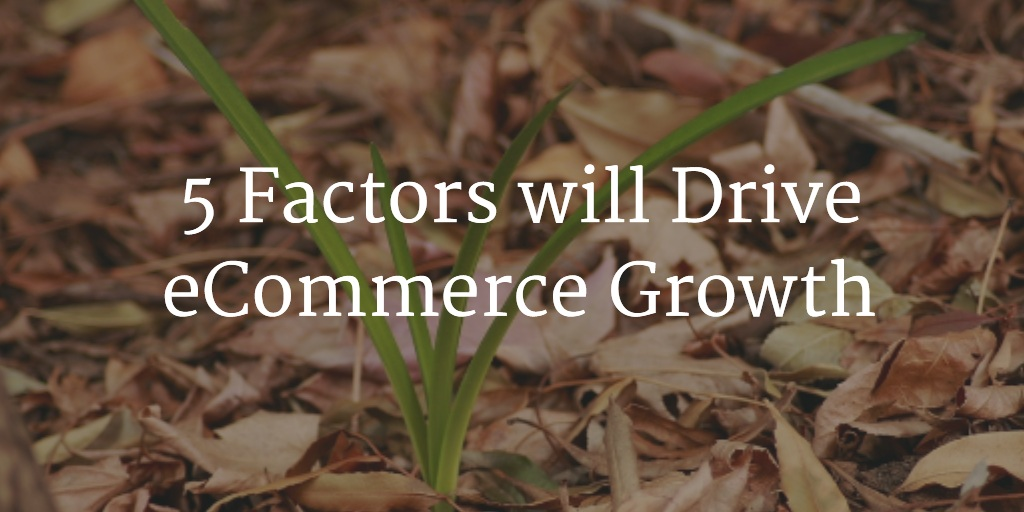 How these 5 Factors will Drive E-Commerce Growth